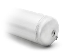 3-GALLON ALUMINUM TANK W/ GLOSSY WHITE POWDER COATED FINISH