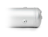 5-GALLON ALUMINUM TANK W/ GLOSSY WHITE POWDER COATED FINISH