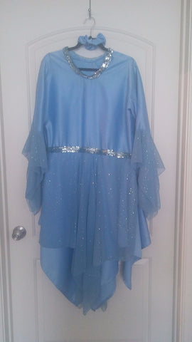 Periwinkle Blue Dance Dress