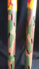 Camo Fire Warrior-Beige War Sticks