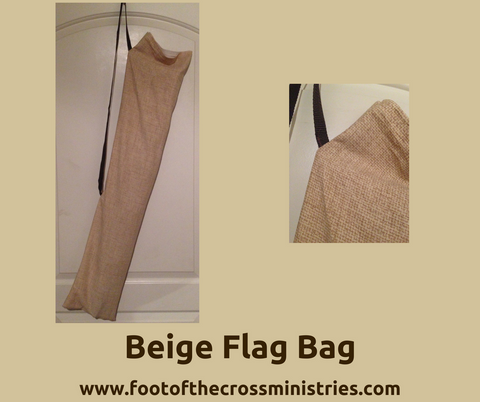 Beige Flag Bag
