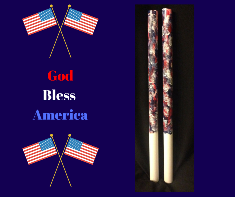 God Bless America War Sticks