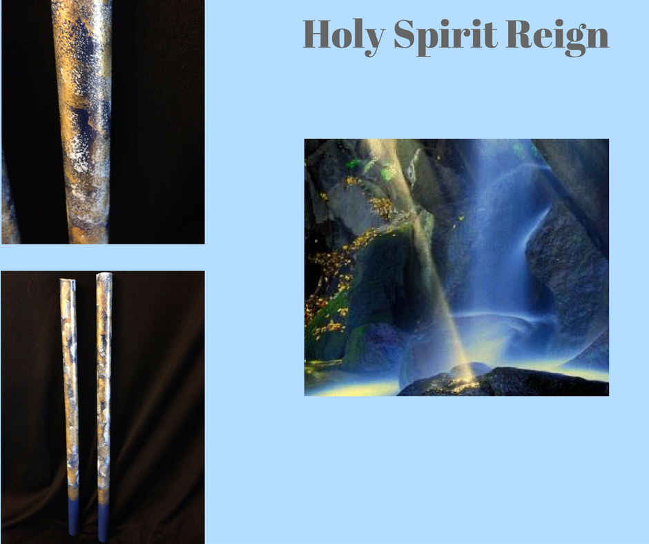 Holy Spirit Reign War Sticks