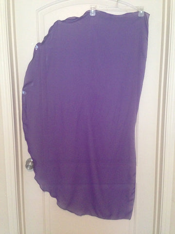 Angel Wing Dance Scarf-Purple