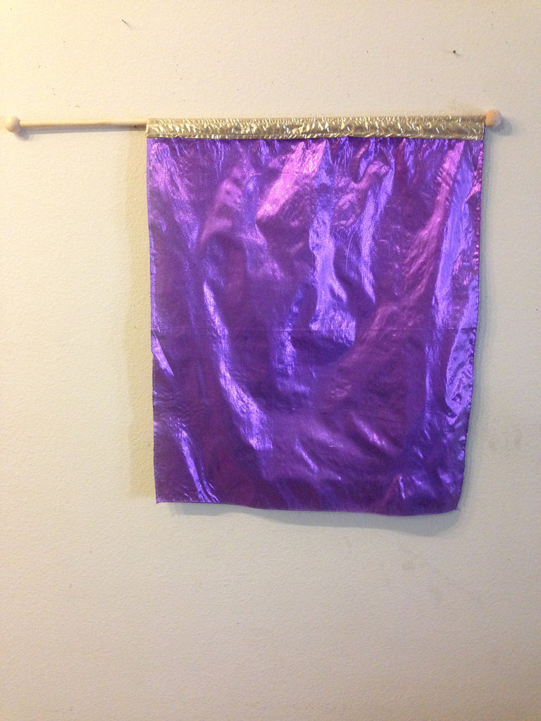 Purple Children's Flag
