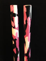 Pink Camo War Sticks