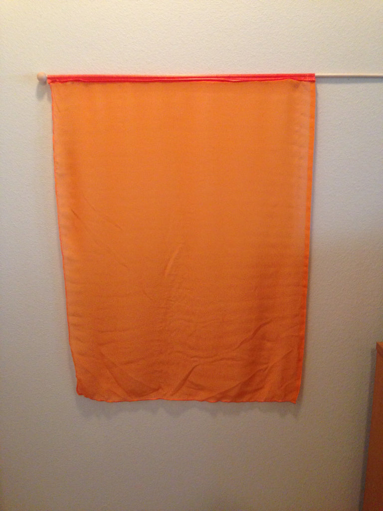 Orange Fire Flag