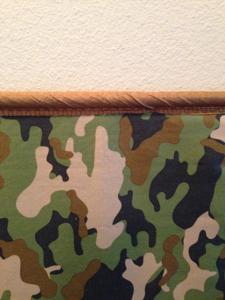 Large Green Camo Flag