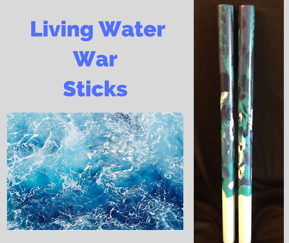 Living Water War Sticks