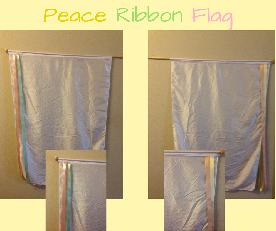 Peace Ribbon Flag