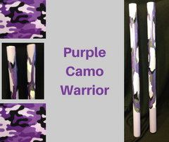 Purple Camo War Sticks