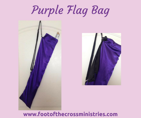 Purple Flag Bag