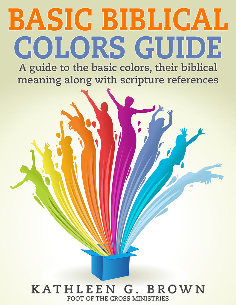 Biblical Colors Guide (Paper Copy)