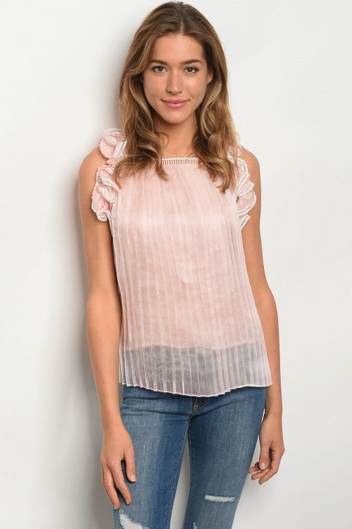 Lia Blush Top
