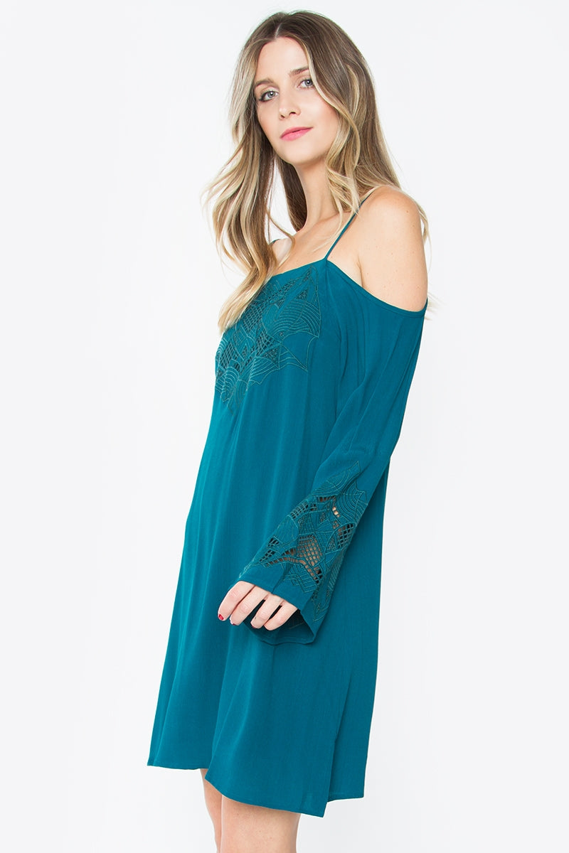 Oasis Off the Shoulder Dress