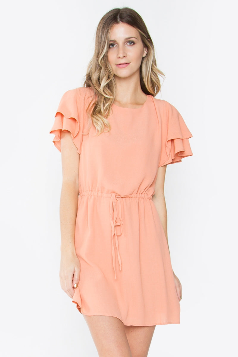 Amberlyn Ruffle Dress