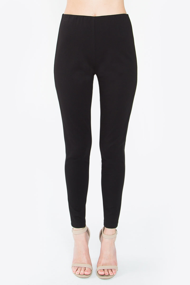 Jerilyn Ponte Satin Leggings