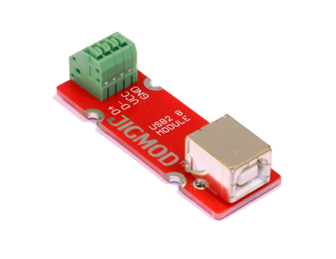 USB 2.0 B Connector JIGMOD