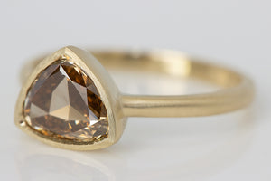 1.13ct Cognac Diamond Ring