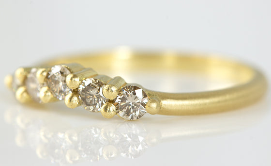 Champagne Diamond Band
