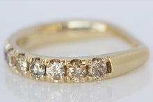 Champagne Diamond Euro Band