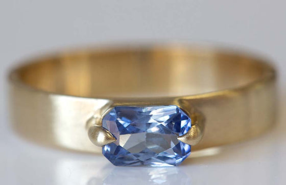 6x4 Sapphire with Wide Band