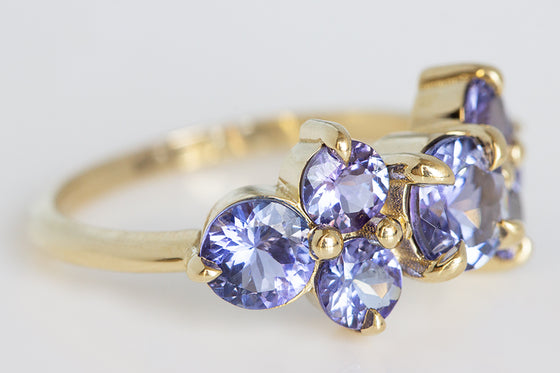 Tanzanite Chroma Ring