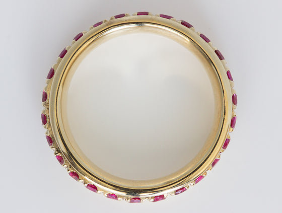 Pavé Ruby Spinner