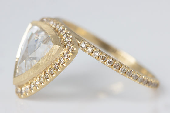 Trillion Cut Diamond Ring