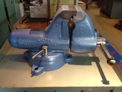 WILTON C2 Bench Vise MACHINIST Bullet 5 Inch Jaws (4 13/16 Inch) Restored! 105lb