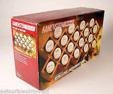 KAMENSTEIN BEECHWOOD Gourmet Spice Rack Holds 18 Jars Criss Cross Design New!