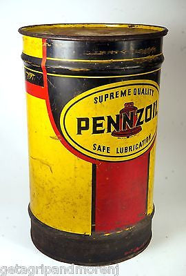 "PENNZOIL COMPANY Oil Can 23"" Inch Vintage Collectible!"