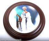 DELPHI MARILYN MONROE Plates Set Lot 1990-1992 Framed Eve Niagara Diamonds Itch