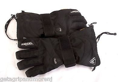 LEVEL Fly Junior Snowboard Protective Gloves Size Large 6 Excellent Condition