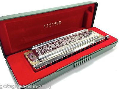 HOHNER The Super Chromonica 270 Harmonica 12 Hole in C In Excellent Condition!
