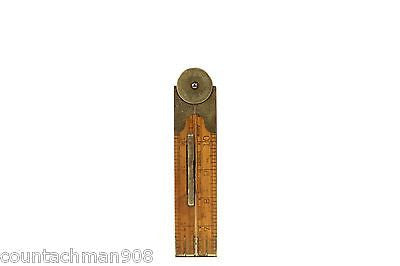 Lufkin 863L Folding Rule, Protractor & Level Architect Inclinometer Rare
