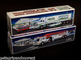 HESS 1992 18 Wheeler and Racer & 2000 HESS Fire Truck In Boxes!
