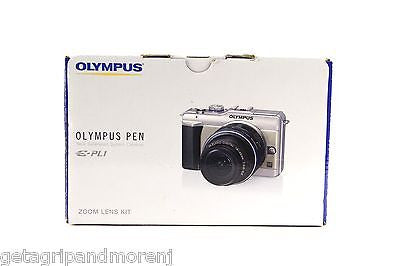 Olympus Pen E-PL1 Digital Camera with Zoom Lens Kit (14 -42mm) Black