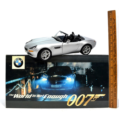 Dealer Exclusive! 007 JAMES BOND 1:18 'BMW Z8' Diecast Car by KYOSHO ***AS-IS***