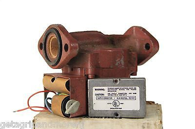 Grundfos UPS15-42F 3 Speed 1/25 HP Cast Iron Circulator Pump in box