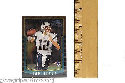 Tom Brady 2000 Bowman Chrome Rookie Card 236 With Plastic Cover