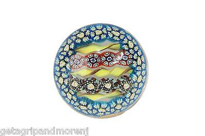 Murano GLASS Paperweight with sticker - Gorgeous!!!!