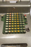 MCCASKEY Cash Register Gray with Key Vintage!
