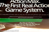 Action Max Game System Complete in Box with Sealed Sonic Fury Game Cartridge