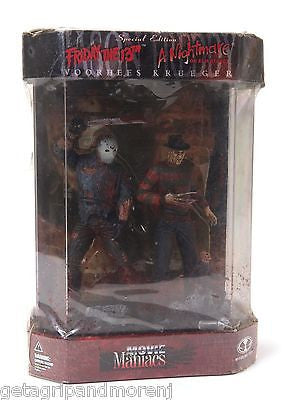 MCFARLANE TOYS Friday the 13th Nightmare on Elm Street Special Edition Figures!