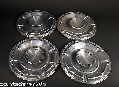 "Set of 14"" Ford Maverick Hubcaps"