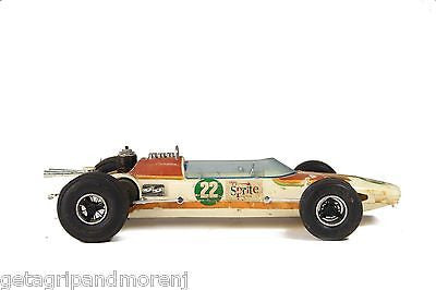 Testors Sprite Indy 500 Gas-Powered Race Car 1970s Vintage