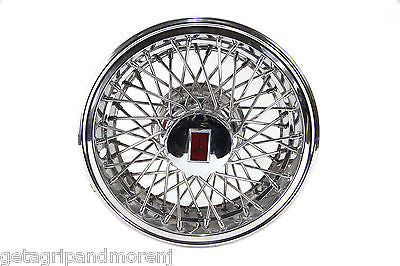 "1 Oldsmobile Custom Cruiser 15"" Wire Spoke Hubcap (early 1980's)"