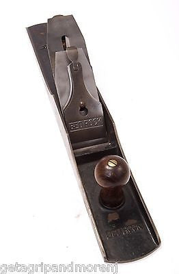 STANLEY BEDROCK No. 607 Rule & Level Co. Jointer Plane In Ex. Condition!