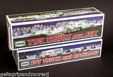 HESS Toy Truck and Racecars 2003 + HESS Toy Truck and Jet 2010 In Boxes!